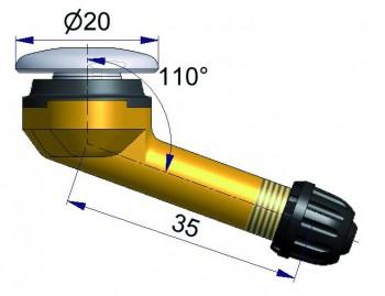 Вентиль б/к    R-2112-2